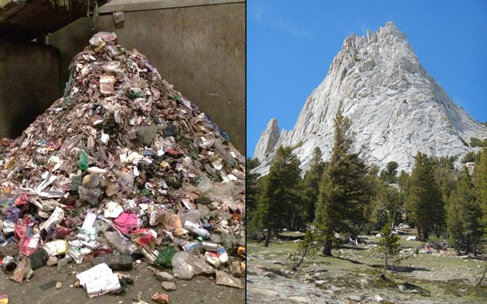 Garbage clipart mountain garbage. Zero landfill initiative yosemite