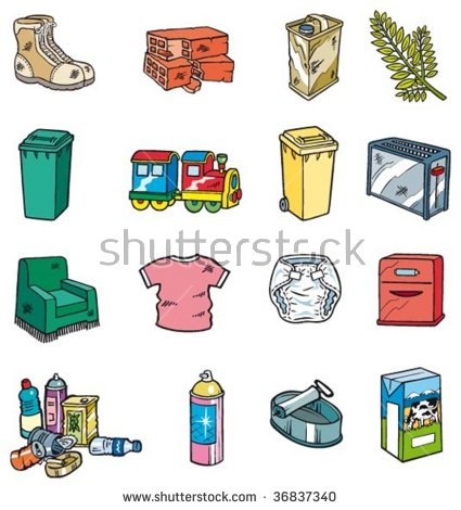 Garbage clipart nonbiodegradable. Non biodegradable waste examples
