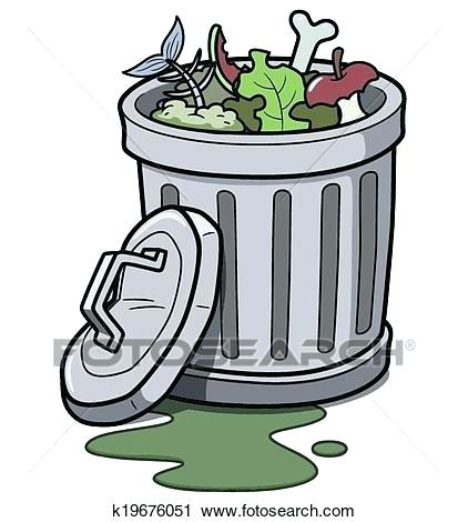 Clip art trash can. Garbage clipart overflowing