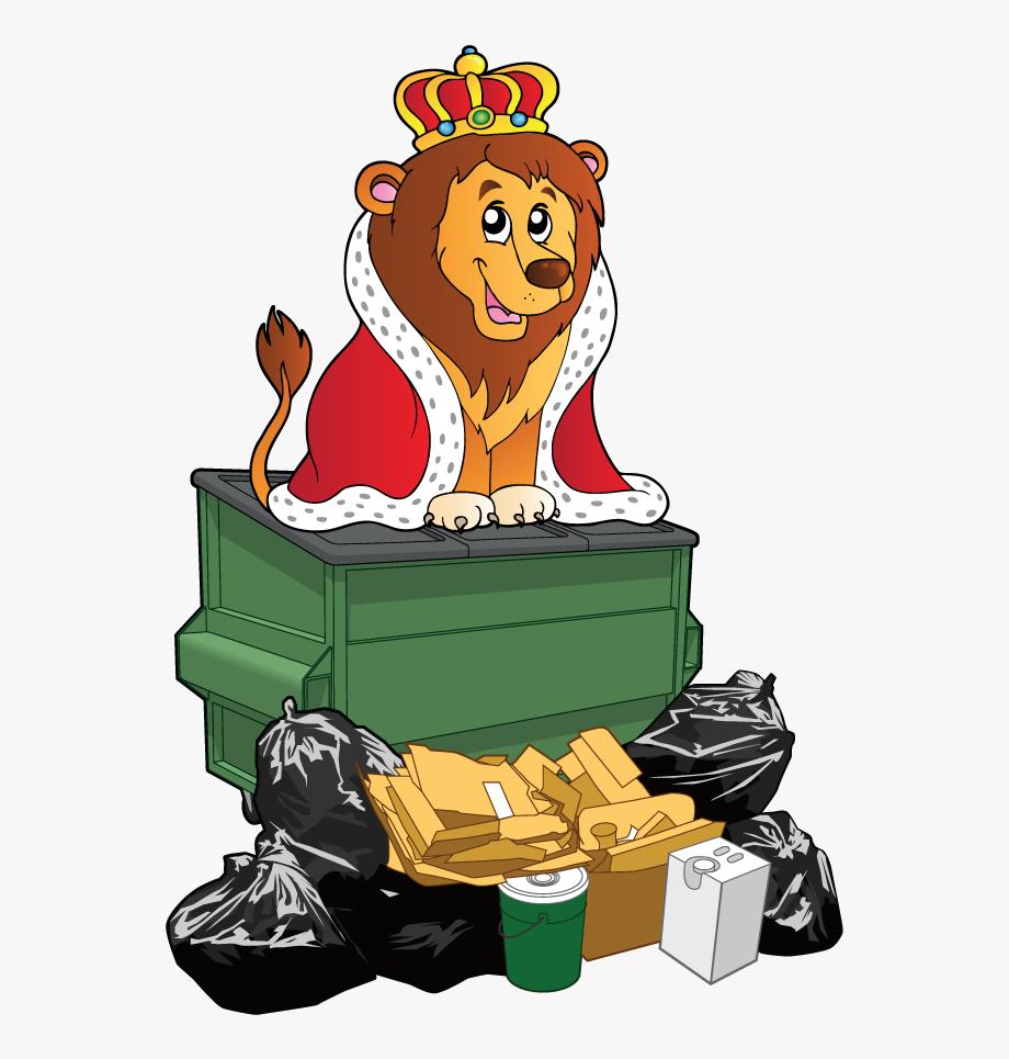 Trash king of free. Garbage clipart pile junk