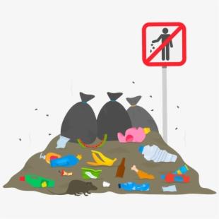Garbage clipart pile junk. Rat nb of rubbish