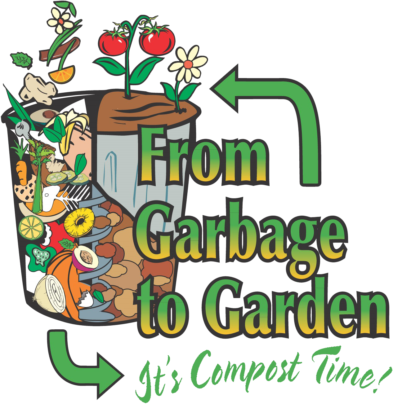 A compost primer lincoln. Smell clipart garbage