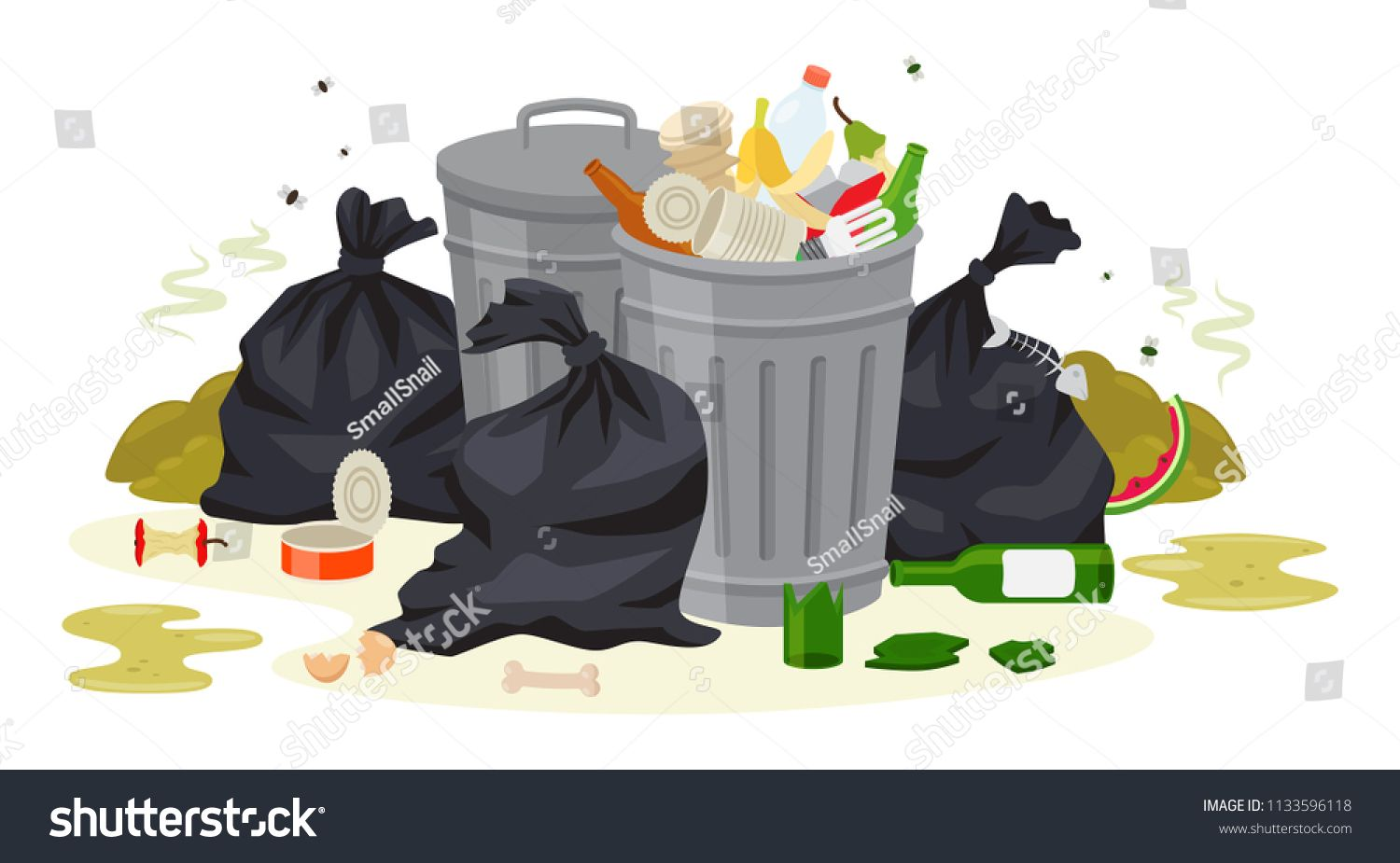 Garbage clipart pile stuff. Pin on project scircle