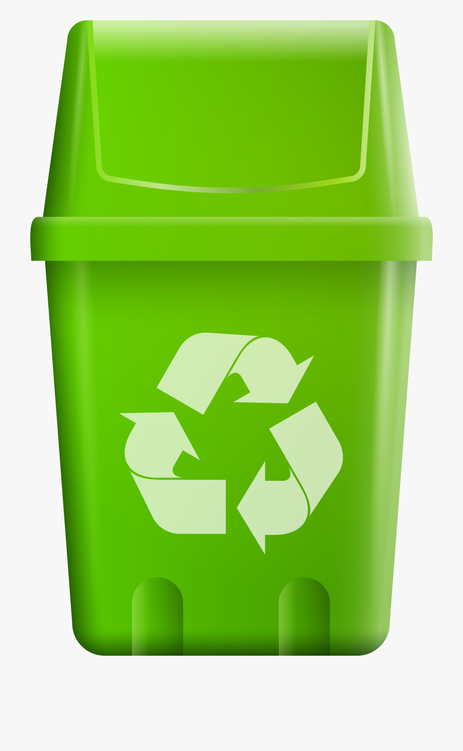 Garbage clipart recycle bin. Trash with symbol png