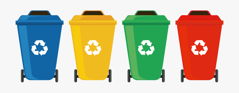 Garbage clipart recycle bin. Trash can clip art