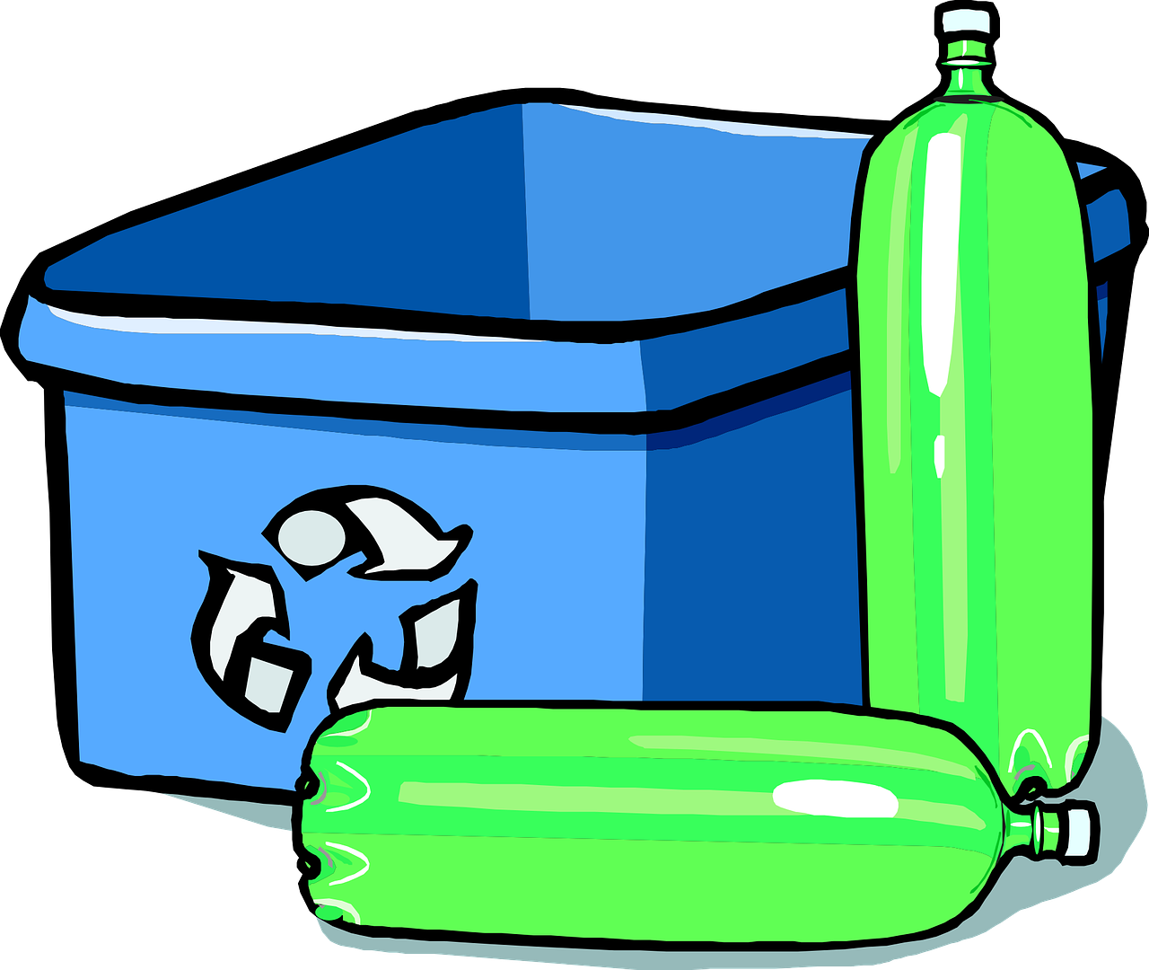 Garbage clipart recycling glass. The eco friendly dog
