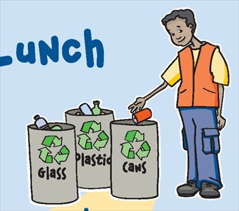 Garbage clipart recycling glass. Free and trash graphics
