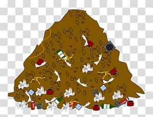 Garbage clipart sanitary landfill. Transparent background png cliparts