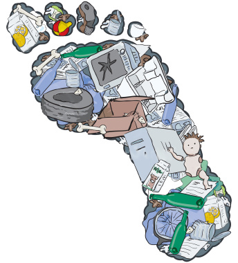 Garbage clipart sanitary landfill. Deep climate change and