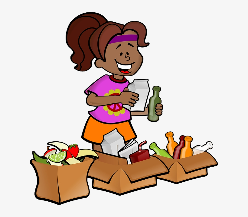 Garbage clipart separate. Trash proper disposal waste
