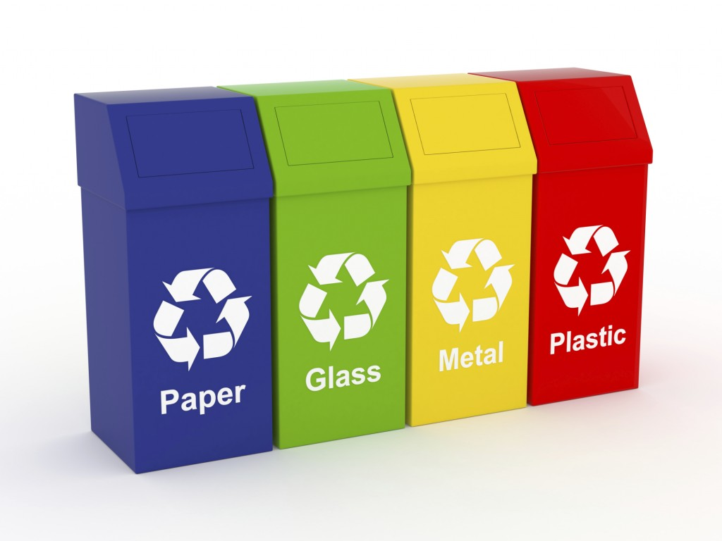 Garbage clipart separate. Pictures of recycle bins