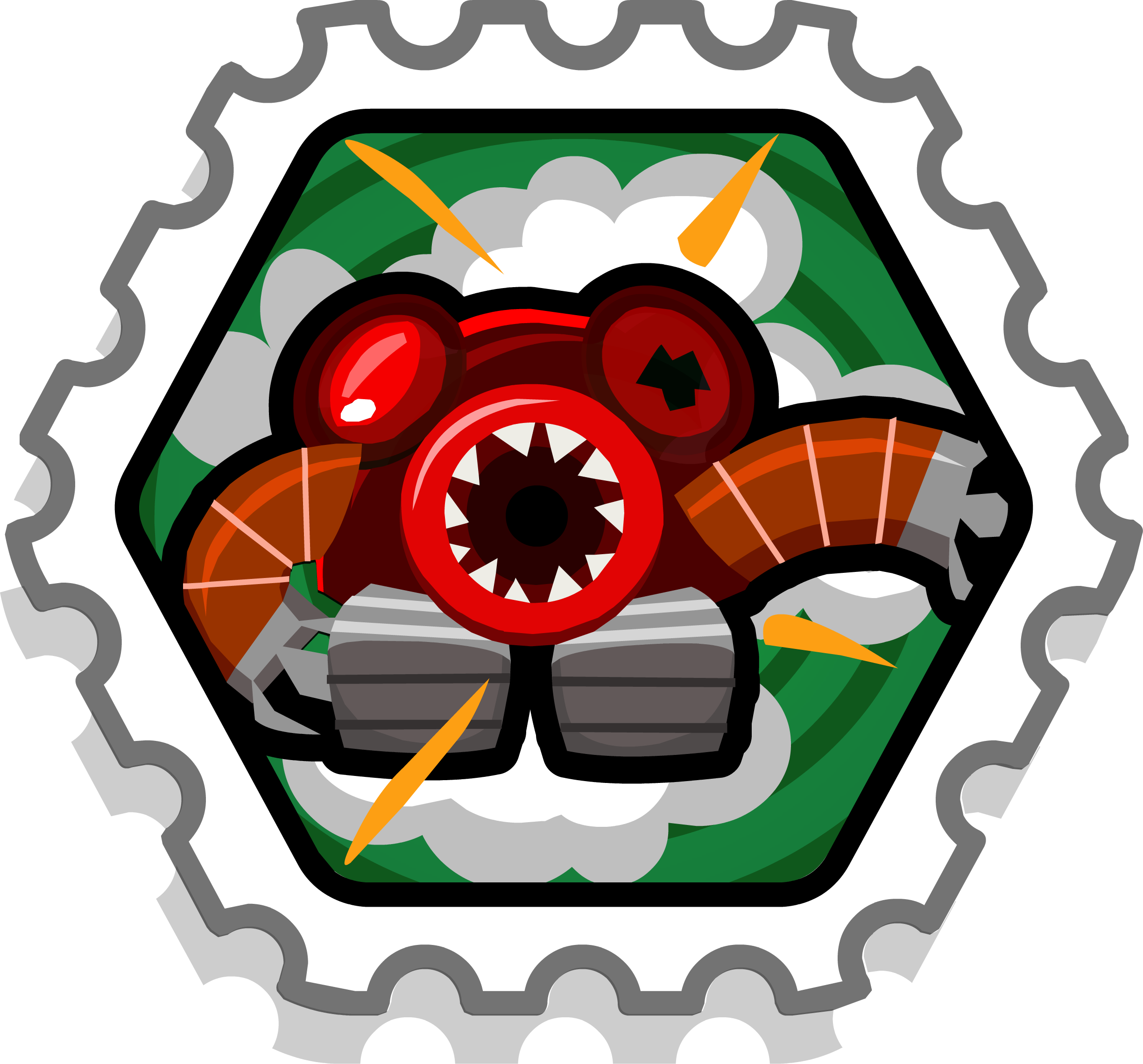 List of system defender. Missions clipart official stamp