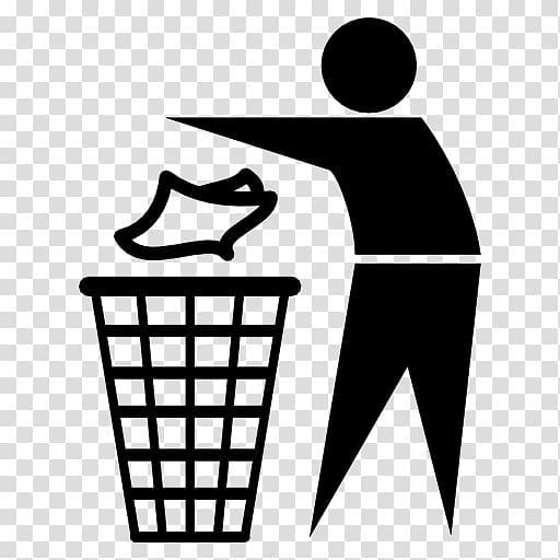 Container can recycling trash. Garbage clipart waste reduction