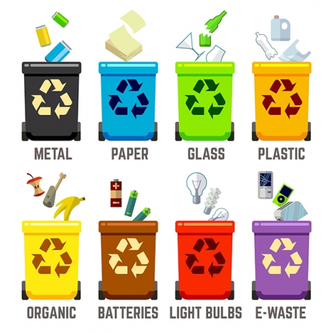Garbage clipart waste reduction. Shepard leads the charge