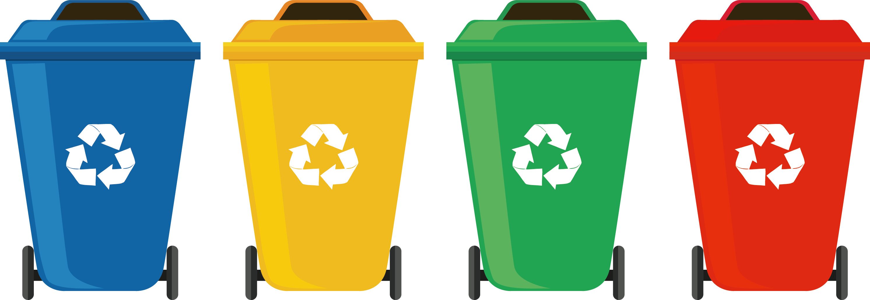 Garbage clipart wastebin. Waste container recycling bin