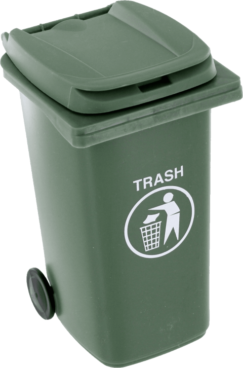 Trash can png free. Garbage clipart wastebin