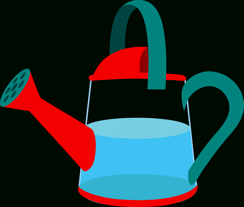 gardener clipart watering can