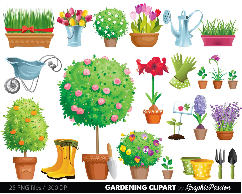 Clip art border free. Garden clipart