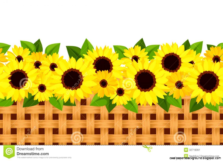 Sunflower station your inspiration. Garden clipart