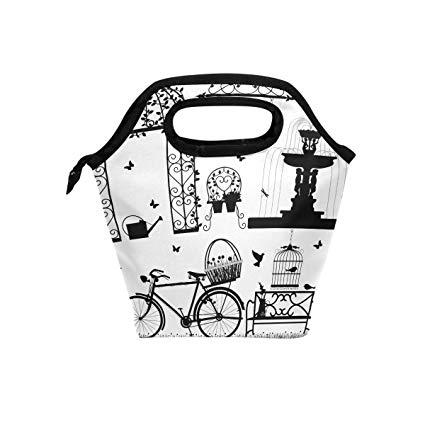 Amazon com bjiansoah insulated. Garden clipart bag