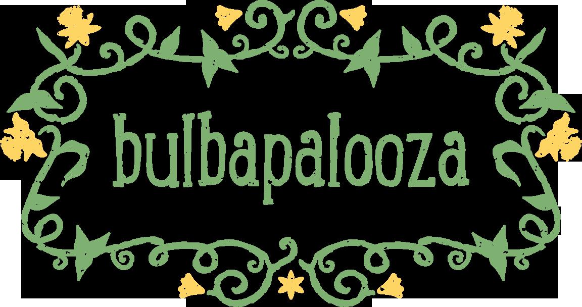 Garden clipart botanical garden. Bulbapalooza moore farms bulbapaloozargbfulllogofullcolor