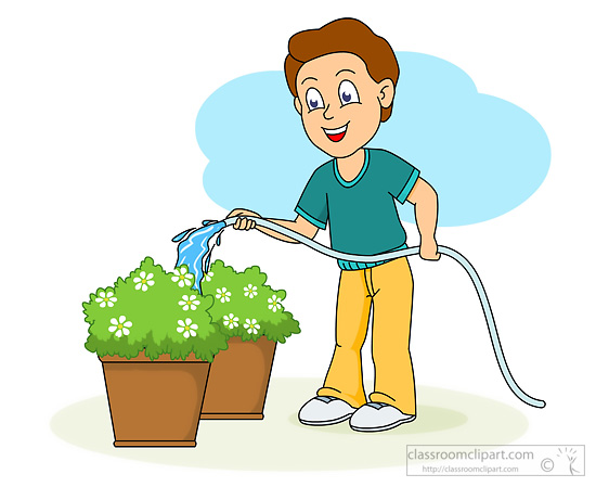 Kids free download best. Gardening clipart water garden