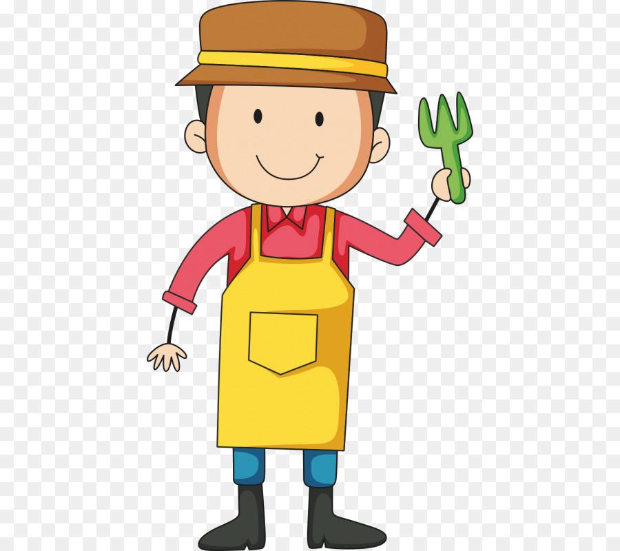 Gardening clipart boy. Cartoon png download free