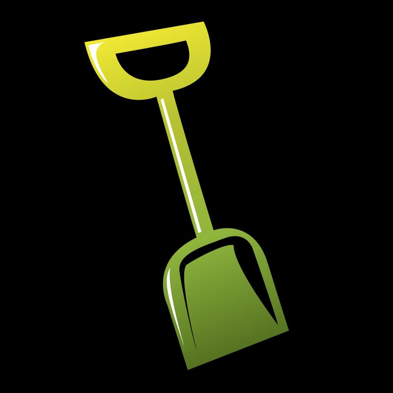 Garden clipart bucket. And spade spades clip