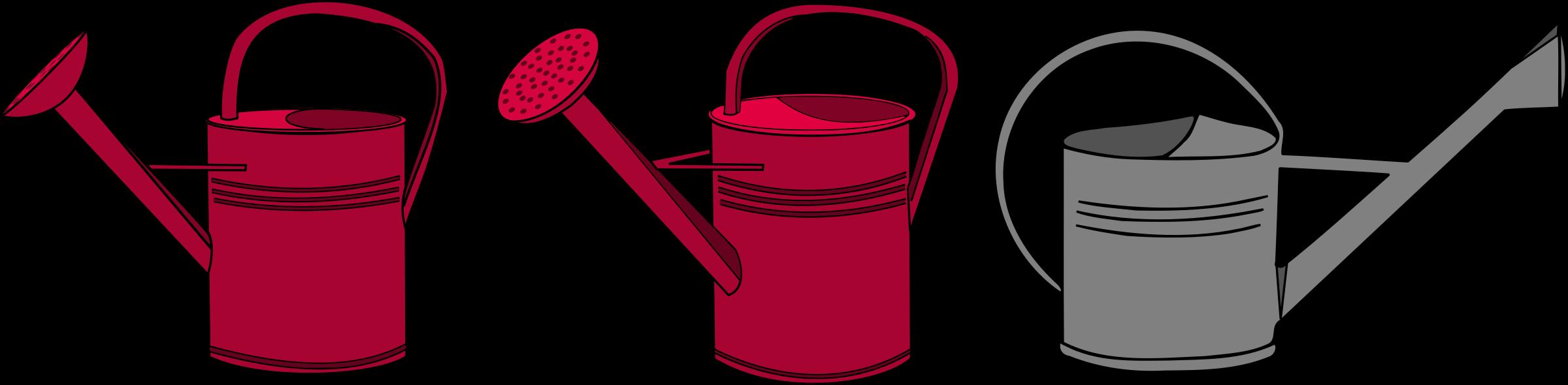 Garden clipart bucket. Watering can