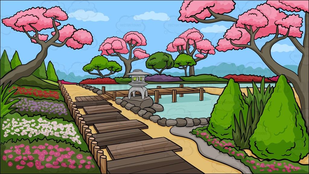 Garden clipart cartoon. Clip art cliparting com