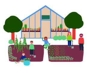 Garden clipart garden centre. Self help and responsibility