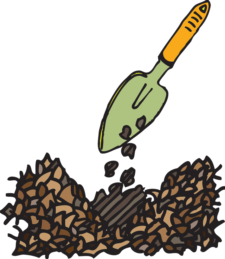 Grow vegetables easily using. Worm clipart vermicomposting