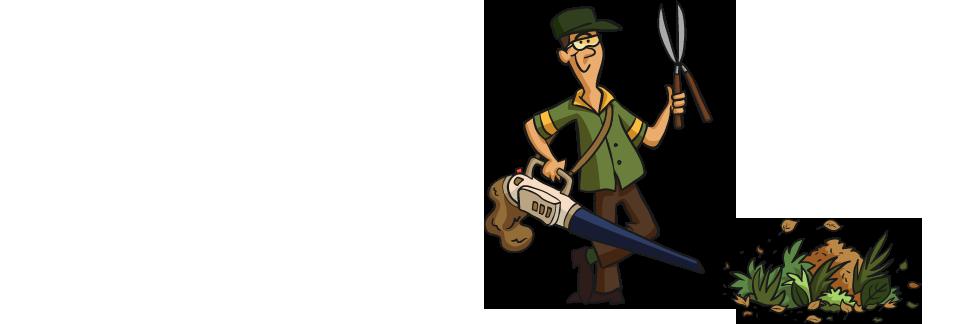 Gardener clipart garden thing. Lawn maintenance gardening services