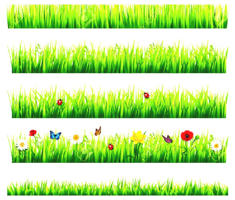 Garden clipart home garden. Flower border clip art