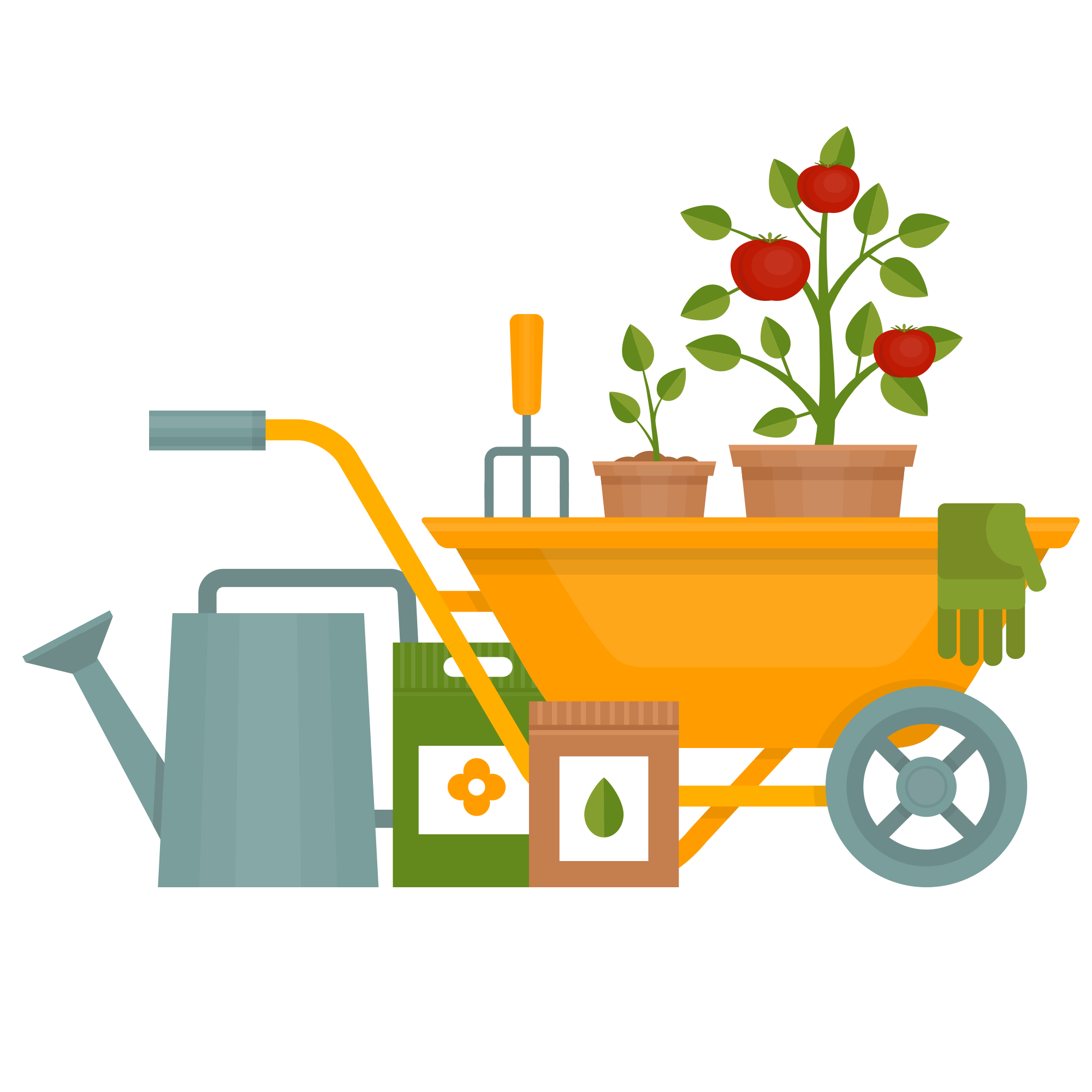 Gardening planters at bretby. Gardener clipart horticulture