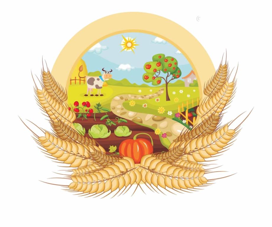 Vegetable farming clip art. Garden clipart kitchen garden