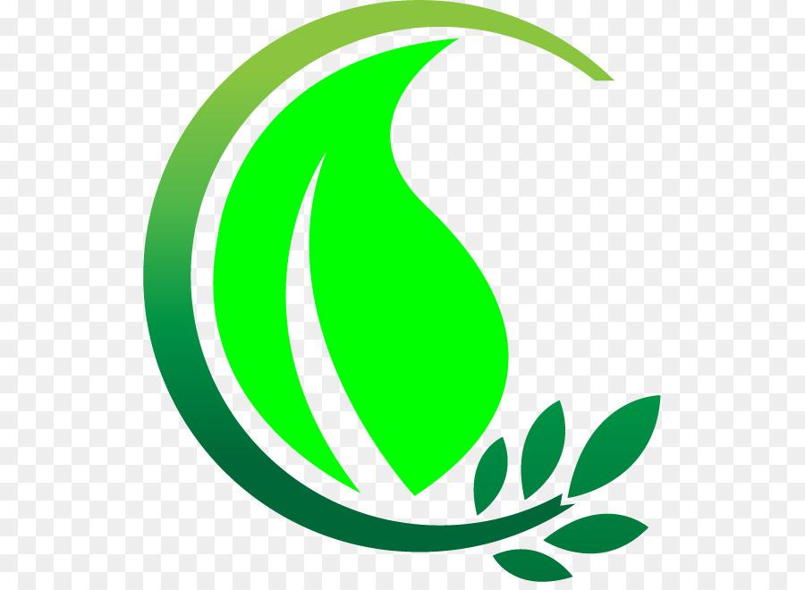 Garden clipart logo. Green leaf landscape graphics