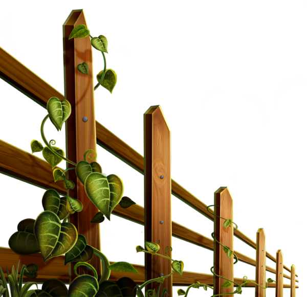 Garden clipart playground. Barrieres clotures clip art