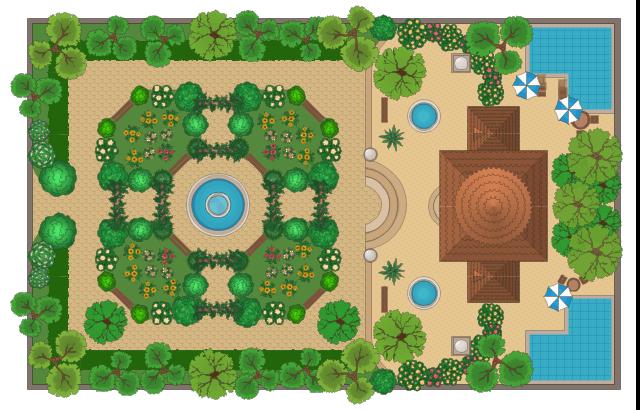 Garden clipart rectangle. Cliparts zone