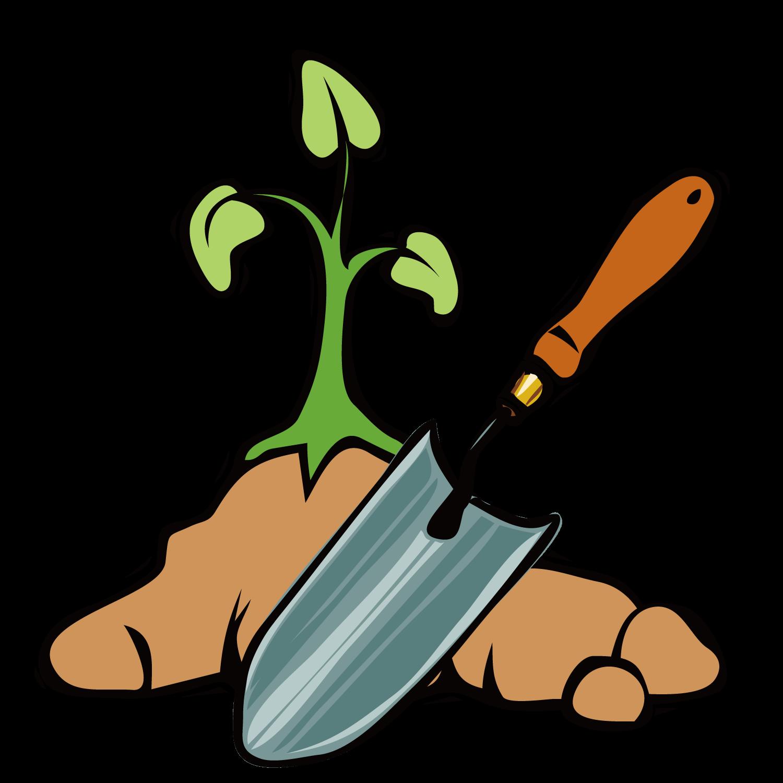 Tool shovel clip art. Gardener clipart garden spade
