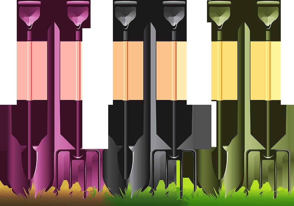 Garden tool clip art. Gardener clipart gardening fork