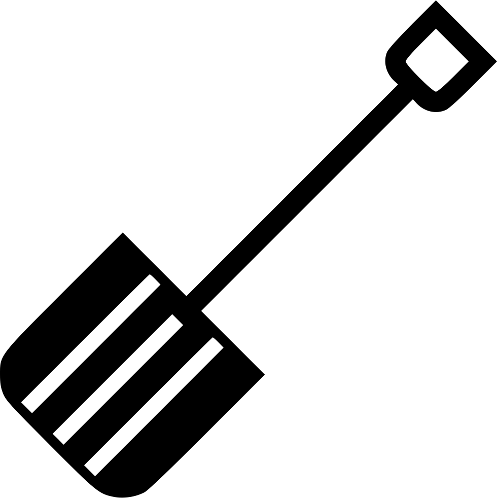 Snow shovel png icon. Icicles clipart svg