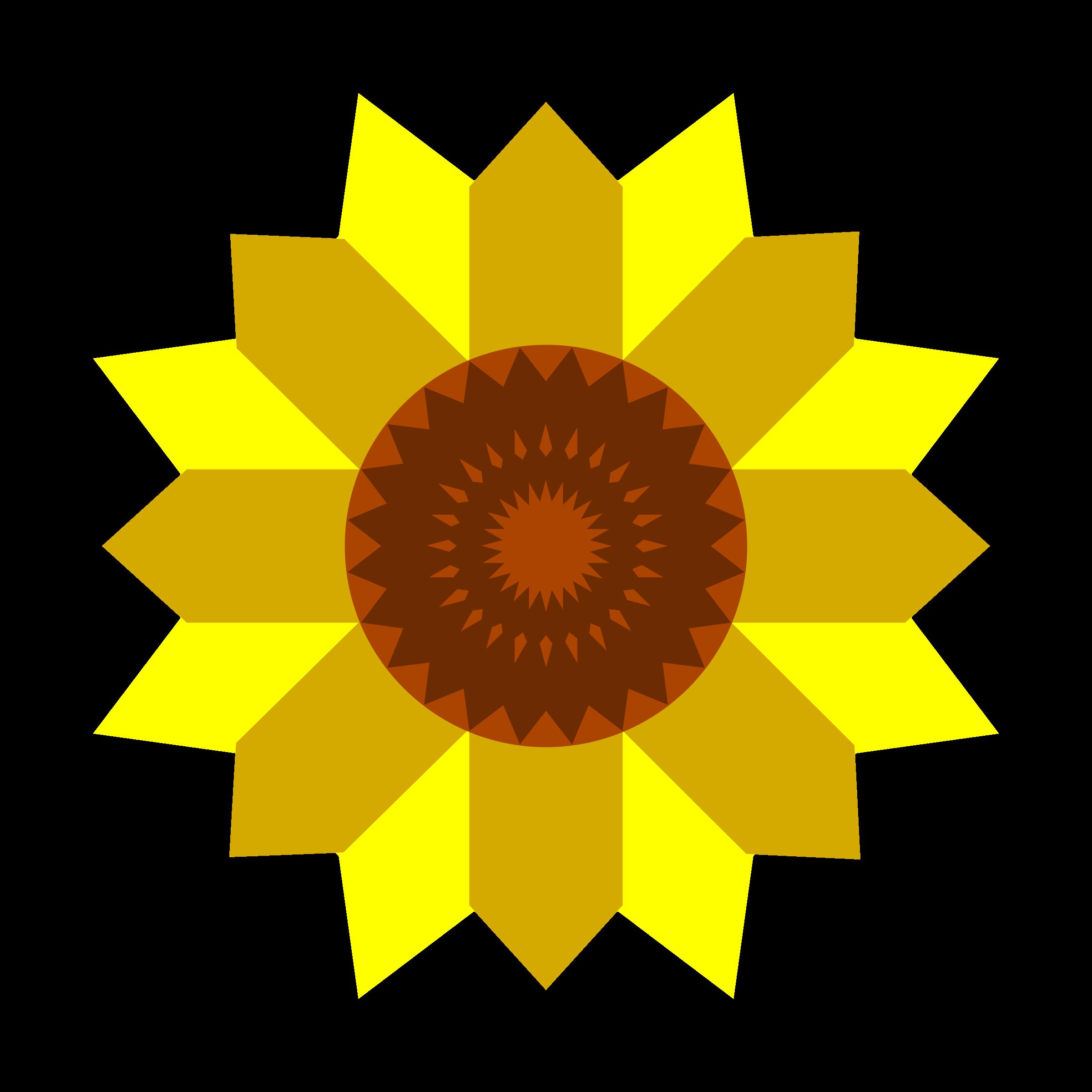 . Garden clipart sunflower