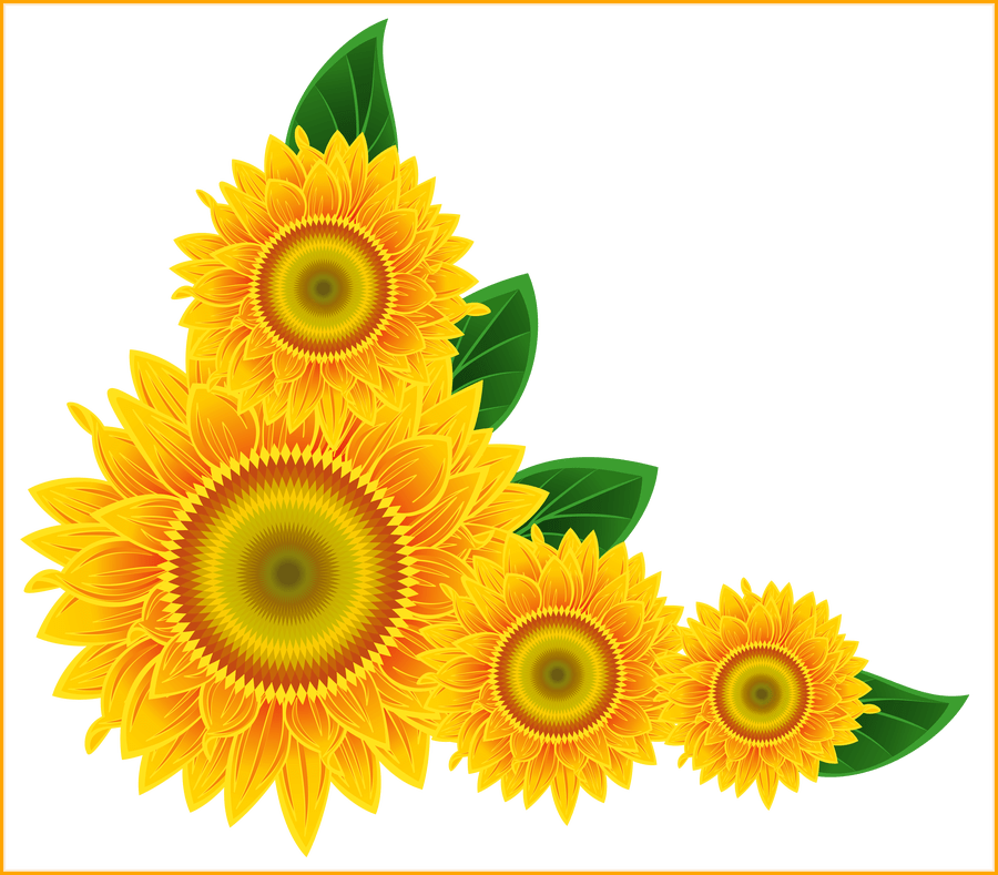 Garden clipart sunflower. Fascinating clip art clipartbold