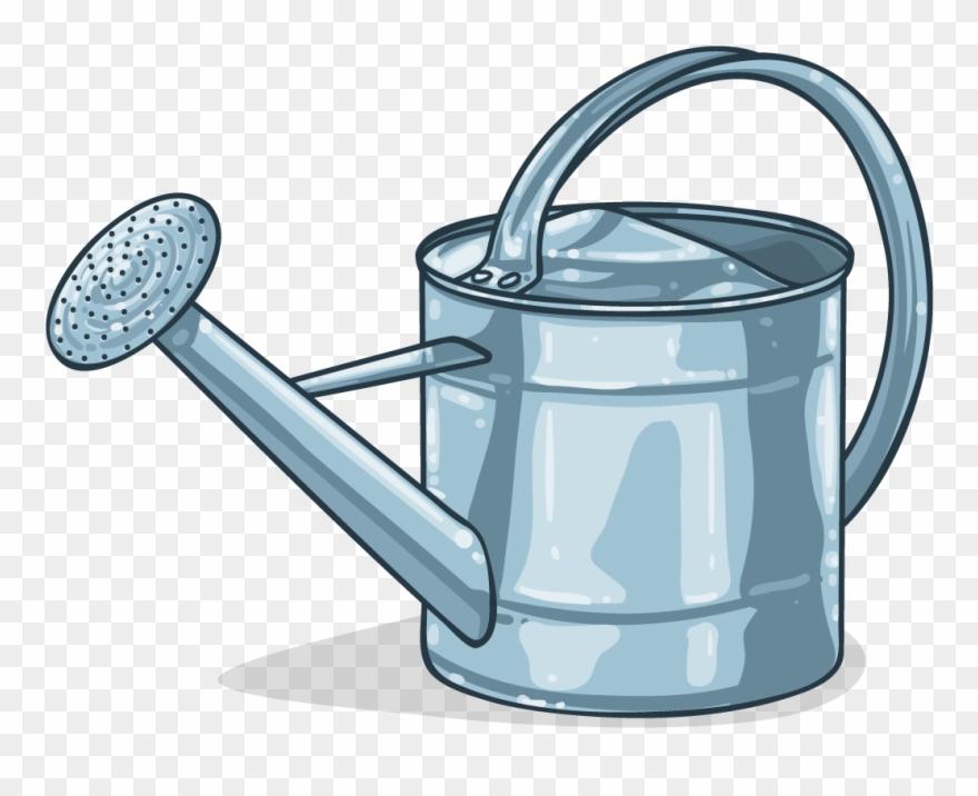 garden clipart watering can
