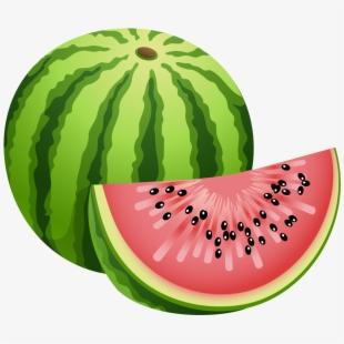 watermelon clipart garden