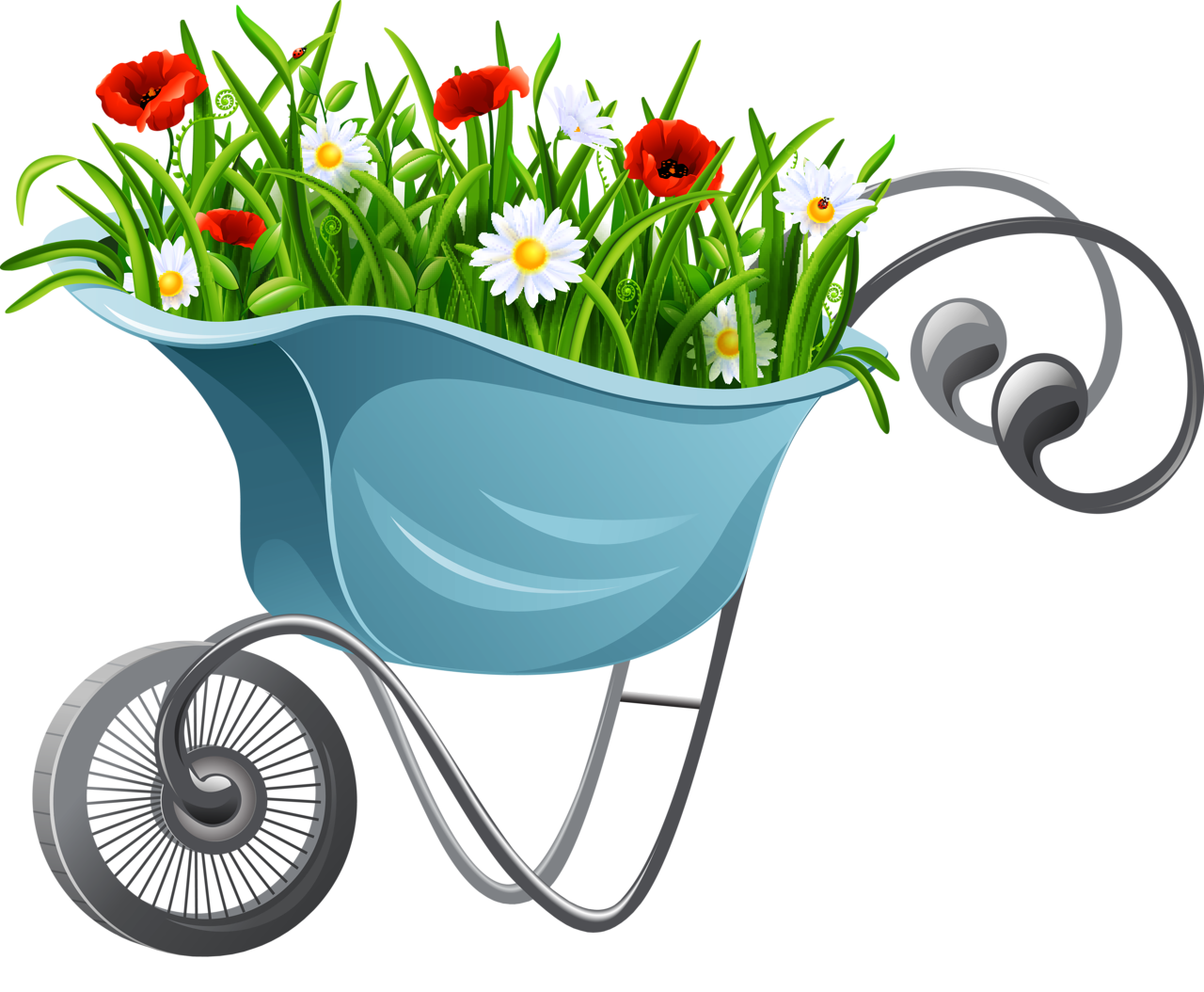 Gardener clipart garden thing. Content png pinterest gardens