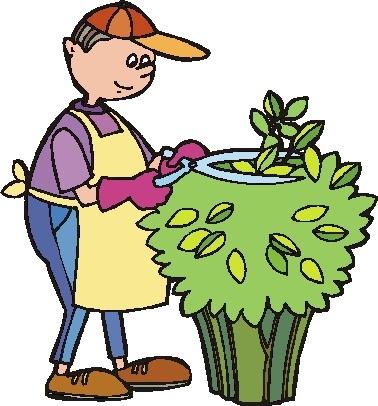 Gardener clipart. Amazing of letter master