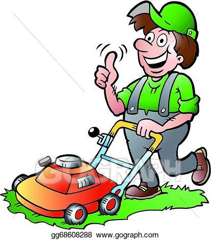 Gardener clipart. Clip art royalty free