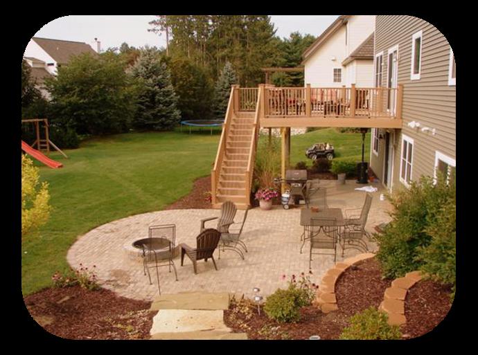 Home aesthetic porch. Gardener clipart backyard garden